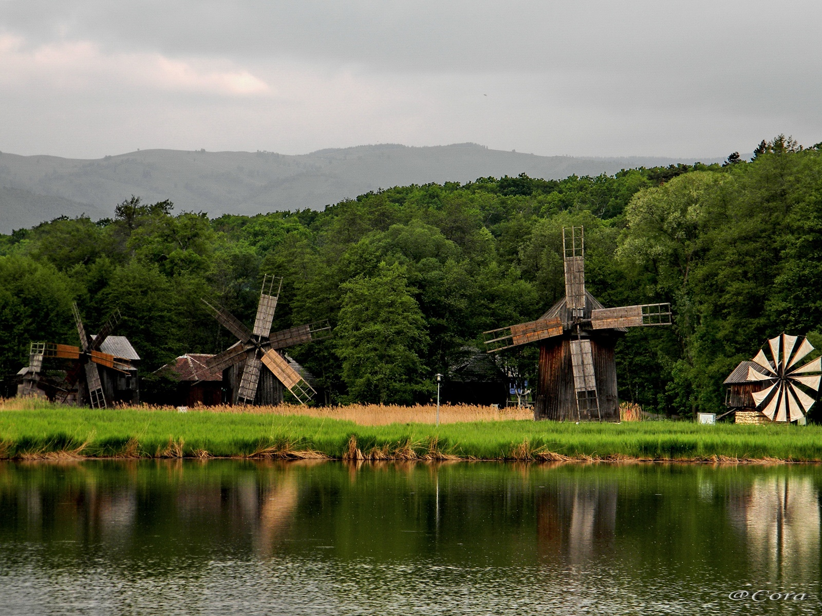 Windmills at ASTRA Museum