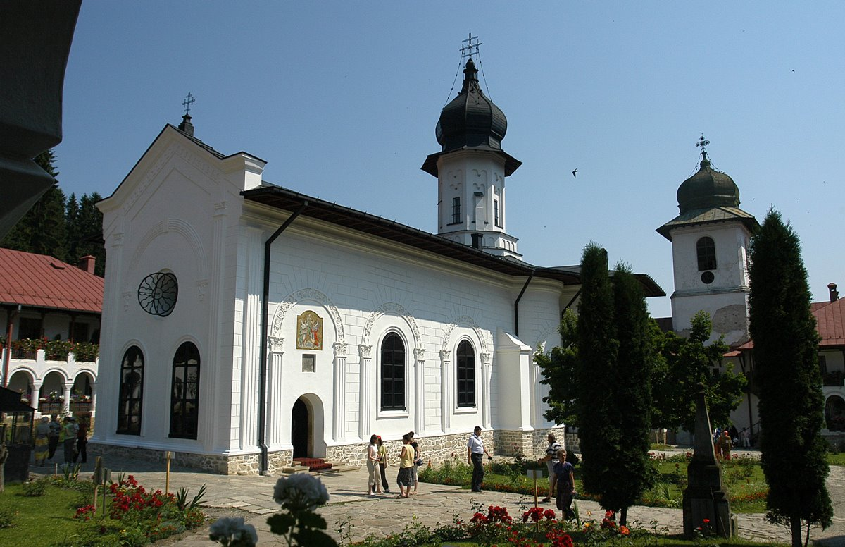 The Agapia Church